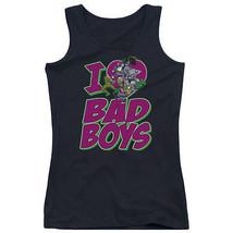 I Heart Love Bad Boys Dc Comics Juniors Tank Top Dc Comics Licensed Dco302 Jtk - $21.99+