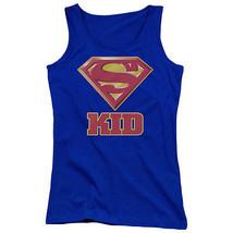 Super Kid Superman Juniors Tank Top Dc Comics Licensed Sm1779 Jtk - $21.99+