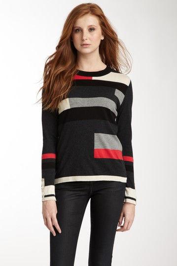 AVA Modrian Crew Missy Sweater NWOT $127