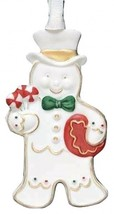 Wedgwood GINGERBREAD PERFECT MAN ORNAMENT NEW IN BOX - $39.59