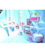 Littlest Pet Shop Rescue Tails Center Playset With Pets Ambulance & Acce... - $69.95