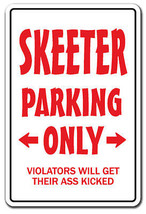 SKEETER PARKING Sign redneck hillbilly nickname gift Dixie country south... - $6.88