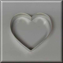 "4"" Heart Metal Cookie Cutter #N4007 - $1.75"