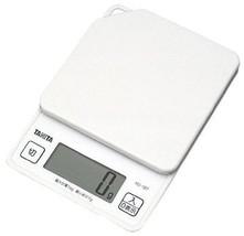 New TANITA digital cooking scale white KD187-WH Japan  - $27.72