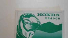 2002 Honda XR400R XR 400 R Owners Operators Owner Manual Brand New 2002 - $44.50