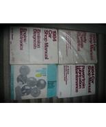 1984 FORD MUSTANG CAPRI Service Shop Repair Manual Set 84 OEM FACTORY - $237.55