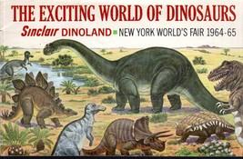 New York World's Fair 1964-65 Sinclair Dinoland Broshure - $5.50