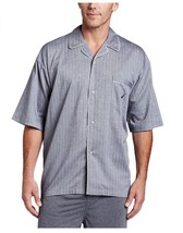 Nautica Men's Captains Herringbone Woven Camp Shirt Size Medium - $18.80