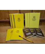 Lot of 11 Rite in the Rain Notebooks 3/135-Universal 2/391FX 3/39 3/393 ... - $77.42