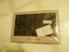 NIB Joseph Abboud 100% WOOL MENS Black Pattern Woven SCARF Scarves - $34.99
