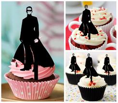 Wedding,Birthday Cupcake topper,silhouette the matrix Package : 10 pcs - $10.00