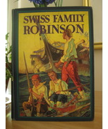 SWISS FAMILY ROBINSON by J. D. WYSS with 8 COLOR PLATES ~ A CLASSIC! - $15.99