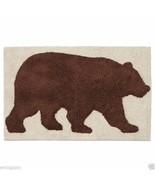 Natures Trail Moose Cabin Brown Bear Bathroom Non-Slip Bath Rug - $39.50