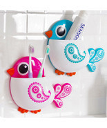 Cartoon Cute Bird Suction Cup Toothbrush toothpaste Holder Bath Organizer - $4.99