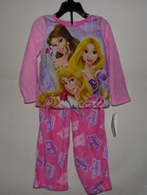 Disney Princess Girls Pajama 2-Piece Set NWT Size-4 - $11.53