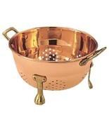"6""  Copper Kitchen ""Berry"" Colander Unlined Dr... - $27.84"