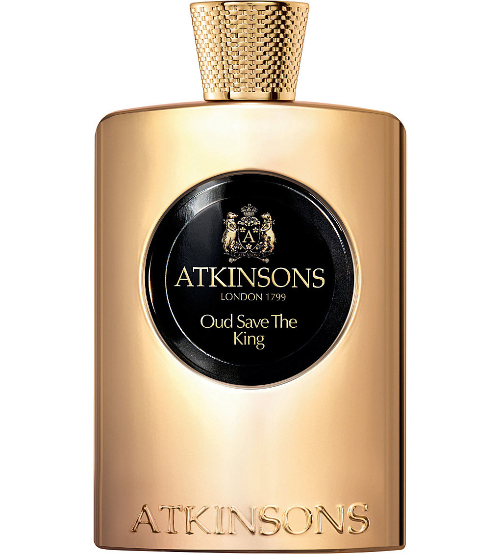 OUD SAVE THE KING by ATKINSONS 5ml Travel Spray Sandlewood Suede Perfume
