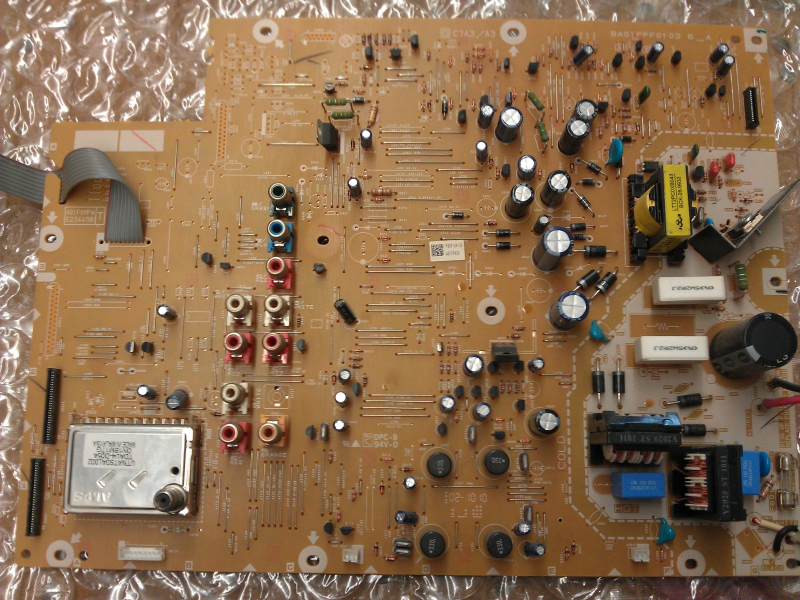 A01FPMPWS001 A01FP026 Power Supply  Board From Sylvania LC320SL1 TH1 LCD TV