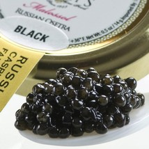Osetra Karat Black Russian Caviar - Malossol, Farm Raised - 5.00 oz tin - $300.44