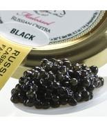 Osetra Karat Black Russian Caviar - Malossol, Farm Raised - 14.00 oz jar - $1,059.45