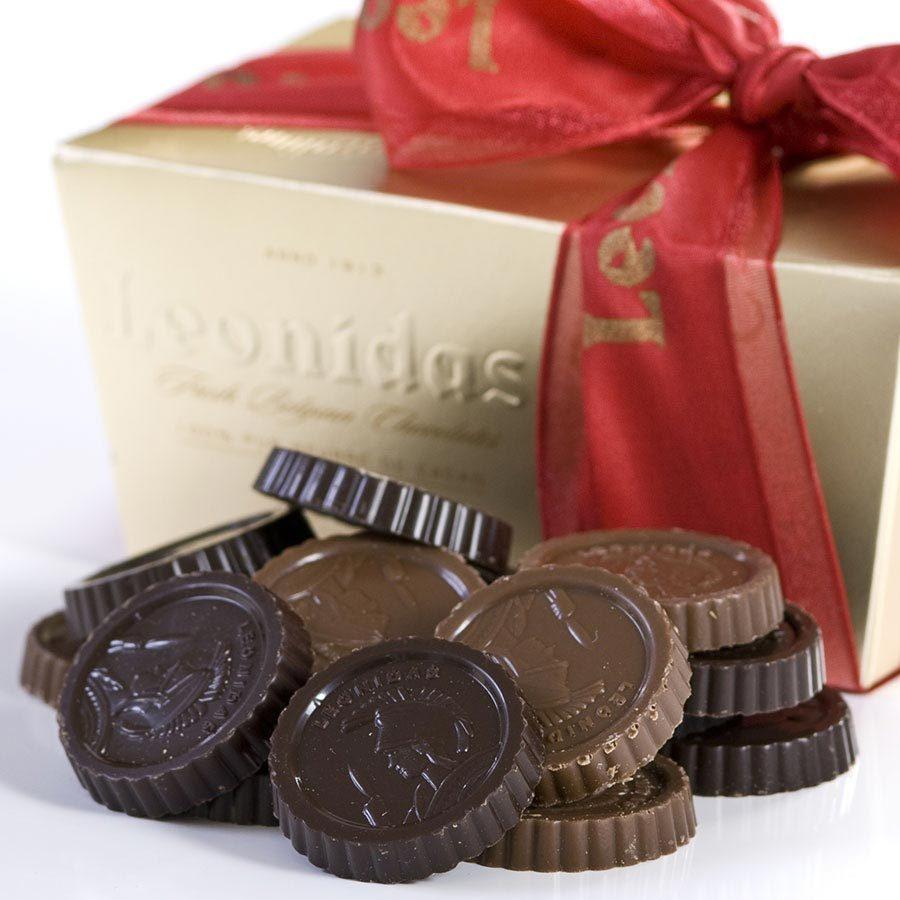 Leonidas Plain Chocolate Finesse - 1 lb ballotin box - $37.80