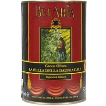 Cerignola Green Olives - 5.5 lbs tin - $66.94
