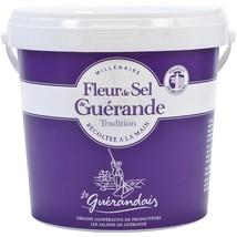Fleur de Sel Sea Salt from Guerande - 2.2 lb pail - $38.32