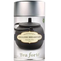 Tea Forte English Breakfast Black Tea - Loose Leaf Tea - 50 Servings Canister - $15.75
