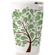 Tea Forte Kati Loose Tea Cup - Green Leaves - 12 oz Kati Cup - $25.87
