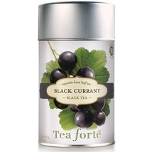 Tea Forte Black Currant Black Tea - Loose Leaf Tea - 50 Servings Canister - $15.75