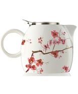 Tea Forte PUGG Ceramic Teapot - Cherry Blossoms - 24 oz teapot - $35.18