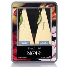 Tea Forte Noir Collection Infusers - 10 Infusers Petite Ribbon Box - $19.95
