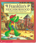 Scholastic Book for Children -- FRANKLIN'S NEIGHBORHOOD, by Sharon Jenni... - $5.75