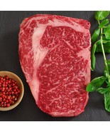 Wagyu Rib Eye, MS8, Whole, Cut To Order - 11 lbs, 1-inch steaks - $1,015.35