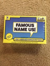 Famous Name Us Game!!!  New!!! - $14.00