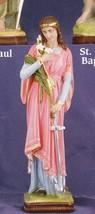 St. Philomena - 12 inch Statue