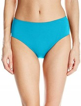 Coco Reef Bikini Bottom Sz S Marina Blue High Waisted Bottom Swimwear U5... - $19.71