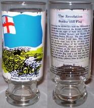 National Flag Fountain Glass Series II The Revolution Bunker Hill Flag - $8.00