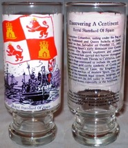 National Flag Fountain Glass Series III Discovering A Continent Royal Standard - $8.00