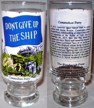 The Pittsburg Press Bicentennial Collection Glass Commodore Perry - $8.00
