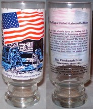 The Pittsburg Press Bicentennial Collection Glass The Flag of United Sta... - $8.00