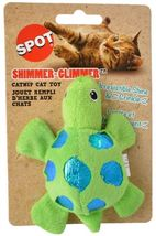 SPOT SHIMMER GLIMMER OR FELT CATNIP TOYS PLAY TURTLE BUTTERFLY FISH MOUSE image 8