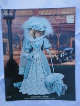"1896 MOTORING COSTUME Paradise Crochet 11 1/2"" Doll Costume Pattern P-037 - $9.41"