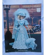 "1896 MOTORING COSTUME Paradise Crochet 11 1/2"" Doll Costume Pattern P-037 - $9.41"