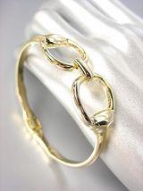 CHIC Designer Inspired Gold Horsebit Buckle Magnetic Clasp Bracelet - $24.99