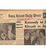 Long Island Daily Press May 1961 - $4.90