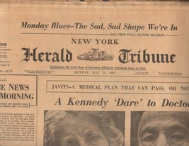 New York Herald Tribune May 21, 1962 - $8.50
