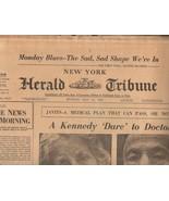 New York Herald Tribune May 21, 1962 - $8.50