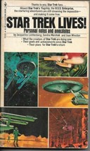Star Trek Lives Paperback Book Personal Notes and Anecdotes Bantam FINE- - $2.50