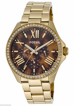 Fossil Cecile Multifunction Stainless Steel Watch Am4498 - $89.99